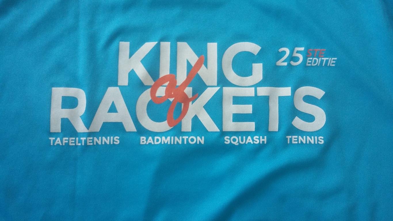 Eerste keer King of Rackets